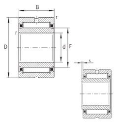 32 mm x 52 mm x 36 mm  32 mm x 52 mm x 36 mm  INA NA69/32-ZW-XL INA Bearing