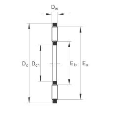 INA TC5266 INA Bearing