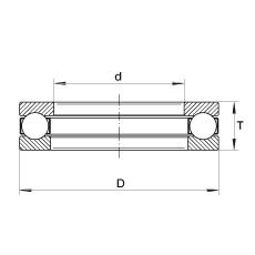 INA XW4-3/4 INA Bearing