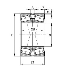 FAG 30218-A-N11CA FAG Bearing