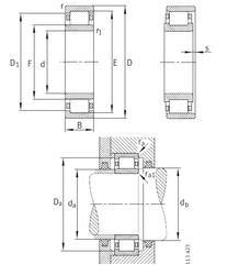 360 mm x 650 mm x 170 mm  360 mm x 650 mm x 170 mm  FAG NU2272-E-M1 FAG Bearing