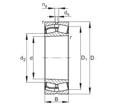 240 mm x 400 mm x 160 mm  240 mm x 400 mm x 160 mm  FAG 24148-E1-K30 FAG Bearing