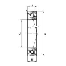 70 mm x 100 mm x 16 mm  70 mm x 100 mm x 16 mm  FAG HS71914-C-T-P4S FAG Bearing