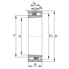 160 mm x 220 mm x 60 mm  160 mm x 220 mm x 60 mm  FAG NNU4932-S-K-M-SP FAG Bearing
