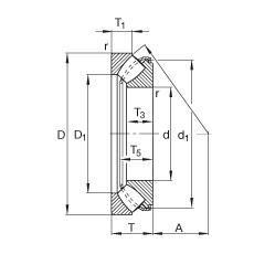 FAG 29336-E1 FAG Bearing