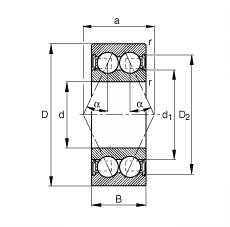 30 mm x 55 mm x 19 mm  30 mm x 55 mm x 19 mm  FAG 3006-B-2RSR-TVH FAG Bearing