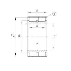 INA RSL185022-A INA Bearing