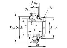 INA G1100-KRR-B-AS2/V INA Bearing