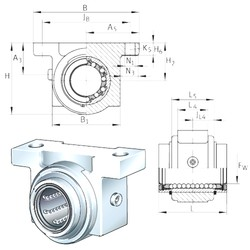 INA KGB12-PP-AS INA Bearing