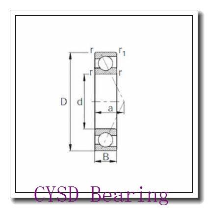 75 mm x 130 mm x 25 mm  75 mm x 130 mm x 25 mm  CYSD QJ215 CYSD Bearing