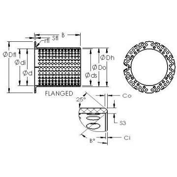 AST ASTT90 F25080 AST Bearing