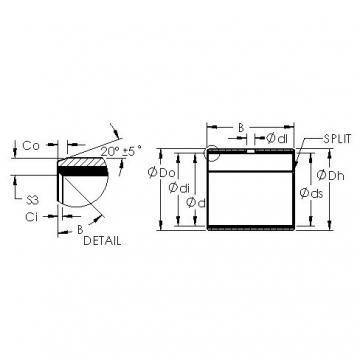AST AST50 44IB76 AST Bearing