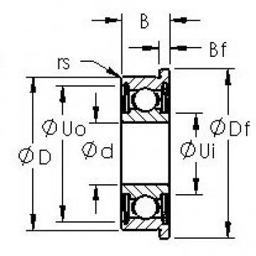 AST SMF117ZZ AST Bearing