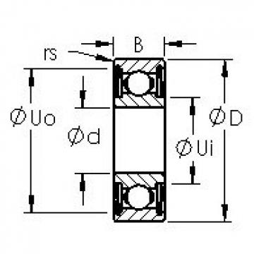 AST 6304ZZ AST Bearing