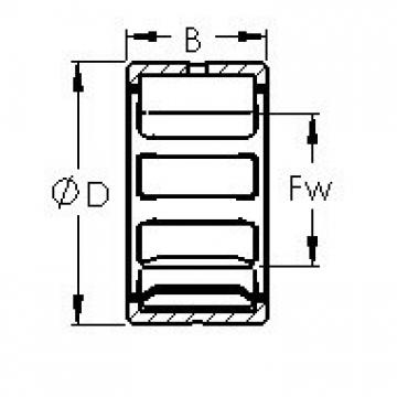 AST NK14/16 AST Bearing
