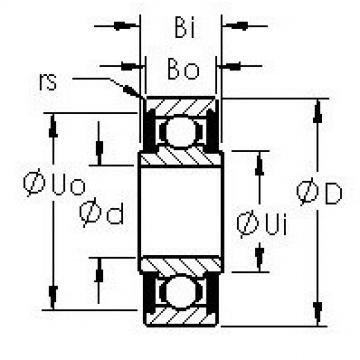 AST SRW156-TT AST Bearing