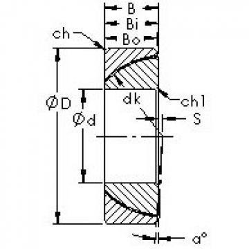AST GAC190T AST Bearing