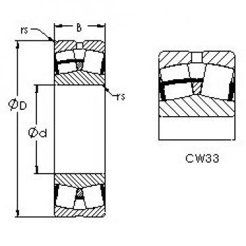 AST 23028CW33 AST Bearing