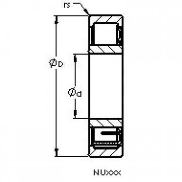 AST NU2306 E AST Bearing