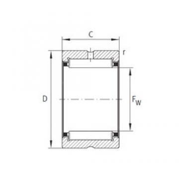 INA NK37/30-XL INA Bearing