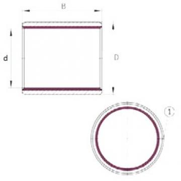 22 mm x 25 mm x 20 mm  22 mm x 25 mm x 20 mm  INA EGB2220-E40 INA Bearing