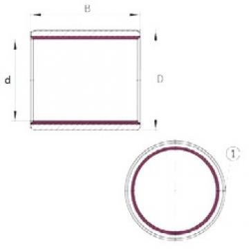 8 mm x 10 mm x 10 mm  8 mm x 10 mm x 10 mm  INA EGB0810-E40-B INA Bearing