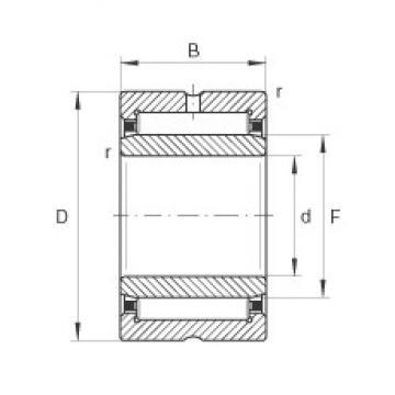 10 mm x 22 mm x 16 mm  10 mm x 22 mm x 16 mm  INA NKI10/16 INA Bearing