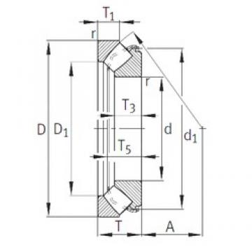 INA 29430-E1 INA Bearing