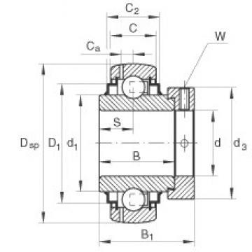 INA GE50-KRR-B-FA101 INA Bearing