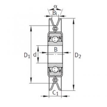 INA RSRA16-129-L0 INA Bearing