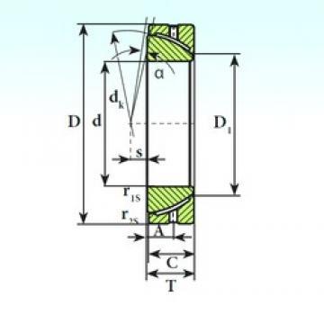 ISB GAC 25 S ISB Bearing