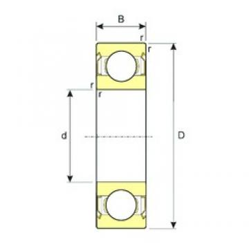 6,35 mm x 15,875 mm x 4,978 mm  6,35 mm x 15,875 mm x 4,978 mm  ISB R4ZZ ISB Bearing