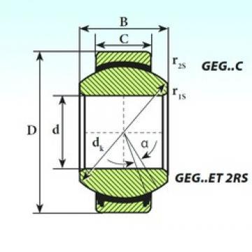 180 mm x 290 mm x 155 mm  180 mm x 290 mm x 155 mm  ISB GEG 180 ET 2RS ISB Bearing