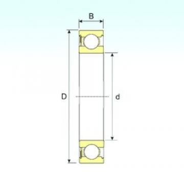 12 mm x 32 mm x 10 mm  12 mm x 32 mm x 10 mm  ISB 6201-RS ISB Bearing