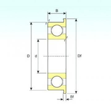 6 mm x 10 mm x 2,5 mm  6 mm x 10 mm x 2,5 mm  ISB MF106 ISB Bearing