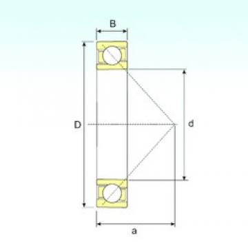 10 mm x 30 mm x 9 mm  10 mm x 30 mm x 9 mm  ISB 7200 B ISB Bearing
