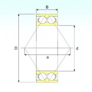 20 mm x 52 mm x 22,2 mm  20 mm x 52 mm x 22,2 mm  ISB 3304 ATN9 ISB Bearing