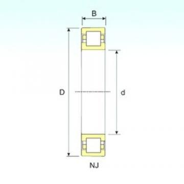 60 mm x 130 mm x 46 mm  60 mm x 130 mm x 46 mm  ISB NUP 2312 ISB Bearing