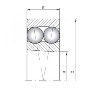75 mm x 160 mm x 37 mm  75 mm x 160 mm x 37 mm  ISO 1315K ISO Bearing