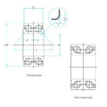30 mm x 64 mm x 42 mm  30 mm x 64 mm x 42 mm  CYSD DAC3064042 CYSD Bearing