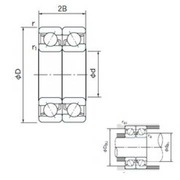 10 mm x 30 mm x 9 mm  10 mm x 30 mm x 9 mm  NACHI 7200CDB NACHI Bearing