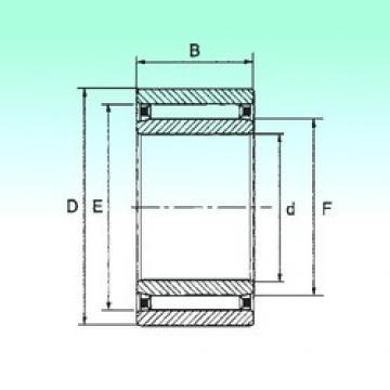 50 mm x 78 mm x 20 mm  50 mm x 78 mm x 20 mm  NBS NAO 50x78x20 NBS Bearing