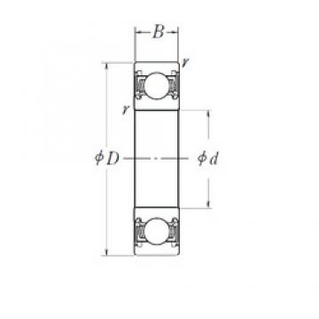 25 mm x 62 mm x 17 mm  25 mm x 62 mm x 17 mm  FBJ 6305-2RSNR FBJ Bearing