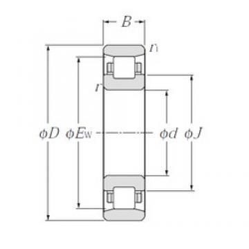 40 mm x 68 mm x 15 mm  40 mm x 68 mm x 15 mm  CYSD N1008 CYSD Bearing