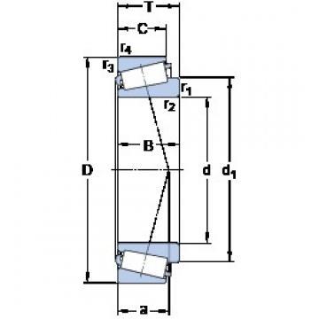 41.275 mm x 76.2 mm x 17.384 mm  41.275 mm x 76.2 mm x 17.384 mm  SKF 11162/11300/Q SKF Bearing