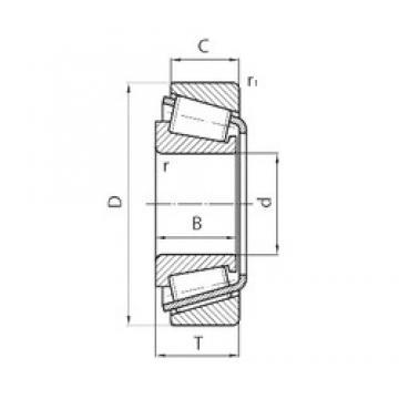 80 mm x 125 mm x 29 mm  80 mm x 125 mm x 29 mm  CYSD 32016*2 CYSD Bearing