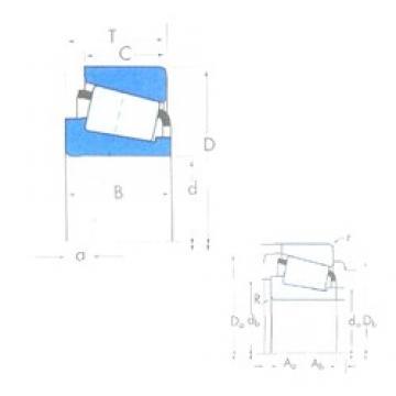 204,788 mm x 292,1 mm x 57,945 mm  204,788 mm x 292,1 mm x 57,945 mm  Timken M241549/M241510 Timken Bearing