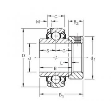 31.75 mm x 62 mm x 36,51 mm  31.75 mm x 62 mm x 36,51 mm  Timken G1103KLLB3 Timken Bearing