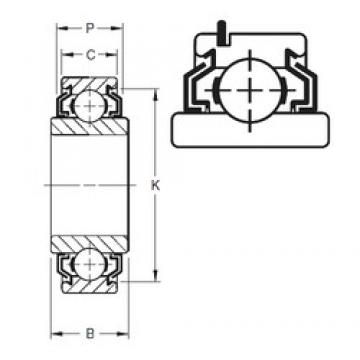 25 mm x 52 mm x 16,75 mm  25 mm x 52 mm x 16,75 mm  Timken 205KLLG2 Timken Bearing