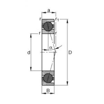 60 mm x 85 mm x 13 mm  60 mm x 85 mm x 13 mm  FAG HCB71912-C-T-P4S FAG Bearing